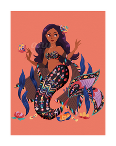 Fine Art Print: Mermaid