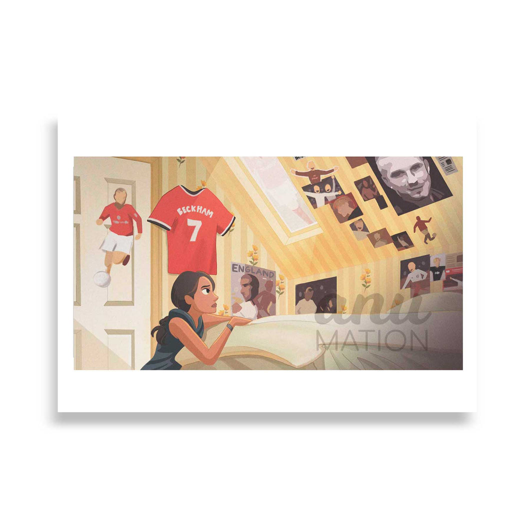 Fine Art Print: Jess' Bedroom