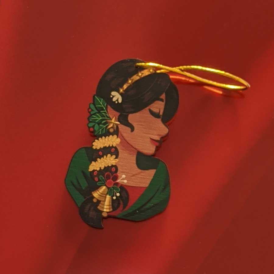 Holiday Ornament - Parandhi