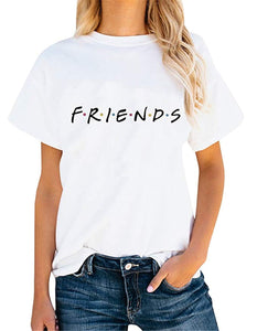 Playera blanca FRIENDS