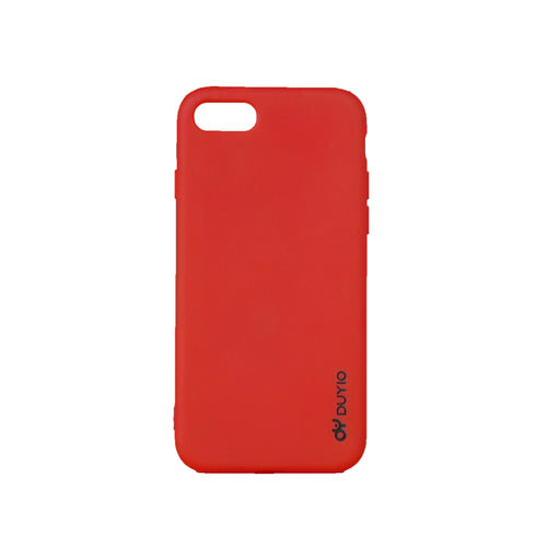Red High Class Liquid Silicone Mobile Phone Cases