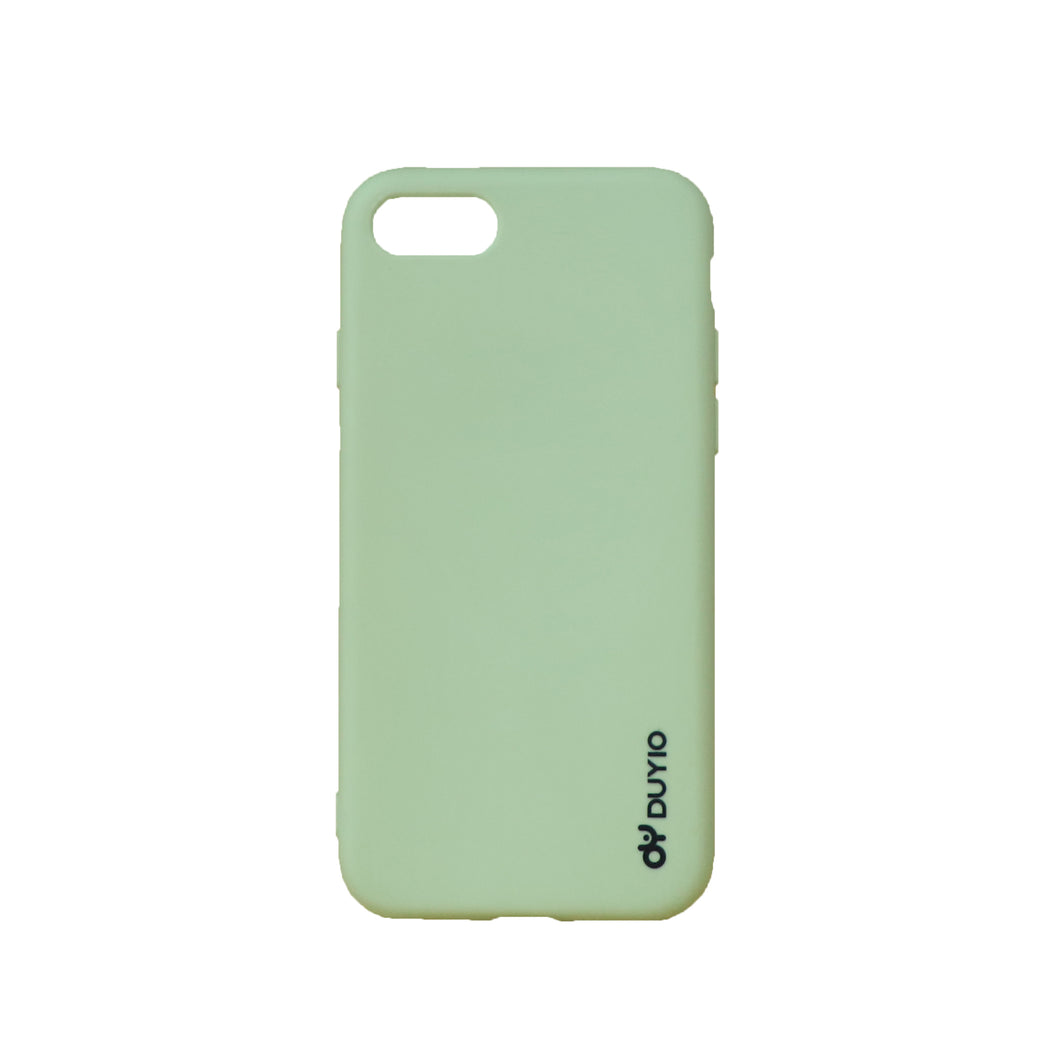 Green High Quality Liquid Silicone Mobile Phone Cases
