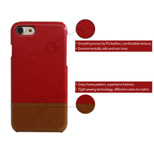 Load image into Gallery viewer, Color Matching PU Leather Mobile Phone Case