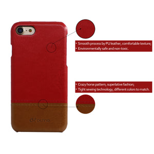 Color Matching PU Leather Mobile Phone Case