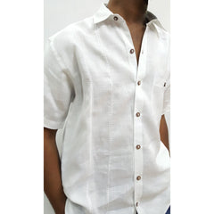 Linen Shirt With Decorative Embroidery