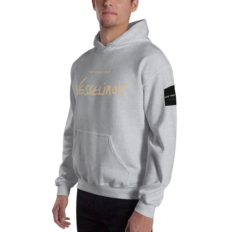 Hooded Sweatshirt - John Lennon by Vlado V - we wear art