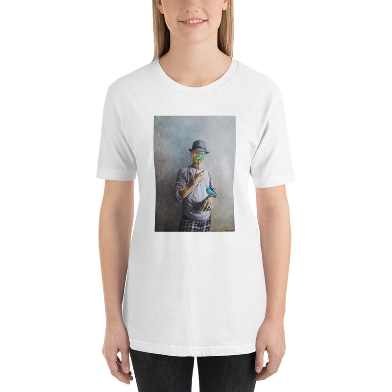 Short-Sleeve Unisex T-Shirt - Selfiy by Avichai C - we wear art
