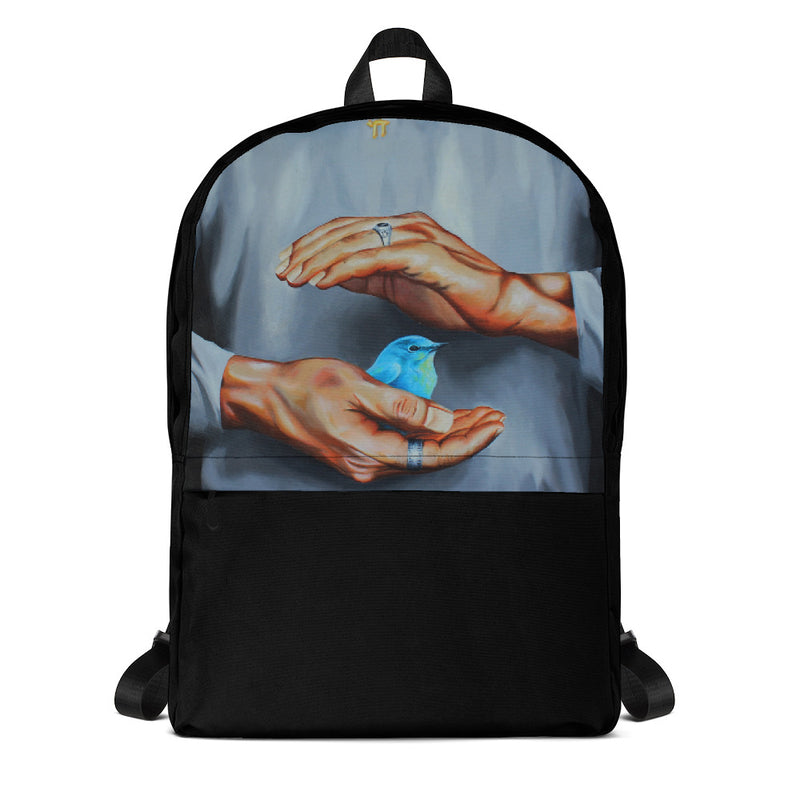Backpack - It's in your hands by Avichai C - we wear art