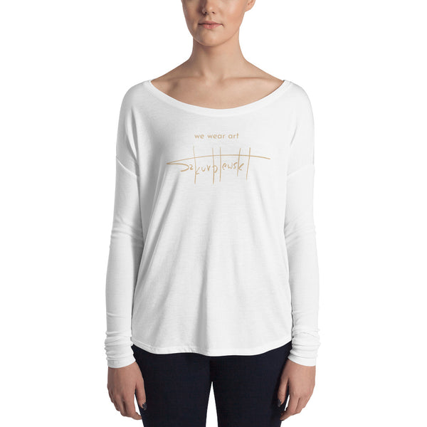 Ladies' Long Sleeve Tee - Szymon K - we wear art