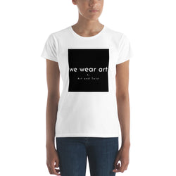 Women's short sleeve t-shirt - we wear art Nara :) - we wear art