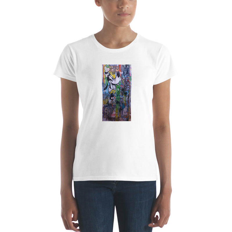 Women's short sleeve t-shirt - Goofy Mix by Eric B - we wear art