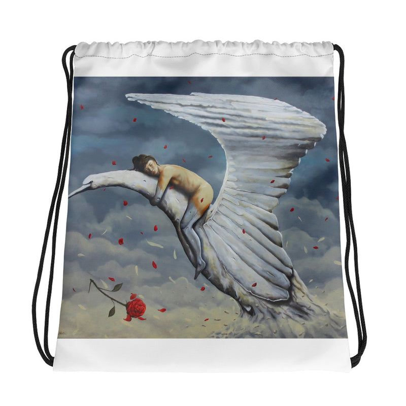 Drawstring bag - The Dream by Avichai C - we wear art