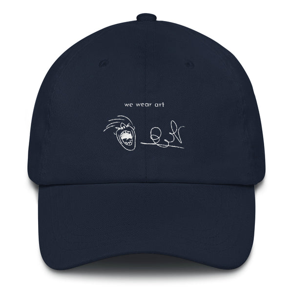 Dad hat - Eldad P we wear art - we wear art