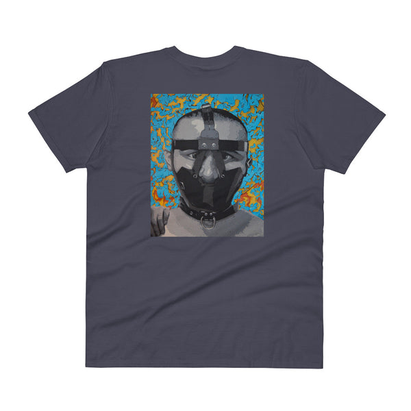 V-Neck T-Shirt - The Mask 2 by Szymon K - we wear art