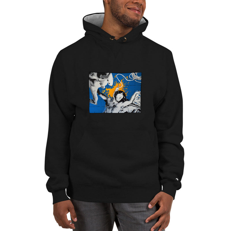 Champion Hoodie - Blue Sky by Szymon K - we wear art