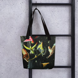 Tote bag - Fly Away by Avichai C - we wear art