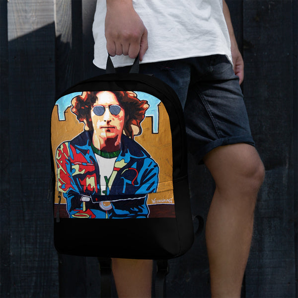 Backpack - Attitude by Vlado V - we wear art