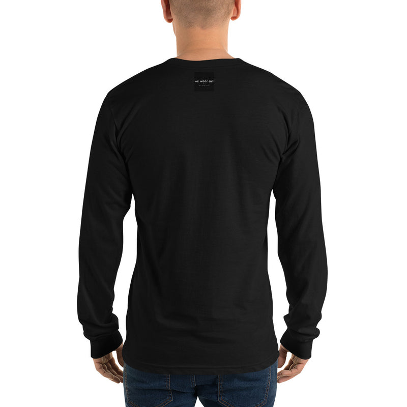 Long sleeve t-shirt - Black Cat by RL - we wear art