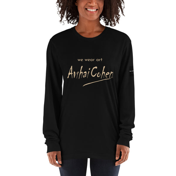 Long sleeve t-shirt - The Hug by Avichai Cohen - we wear art