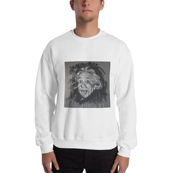 Sweatshirt - Einstein by Eric B - we wear art