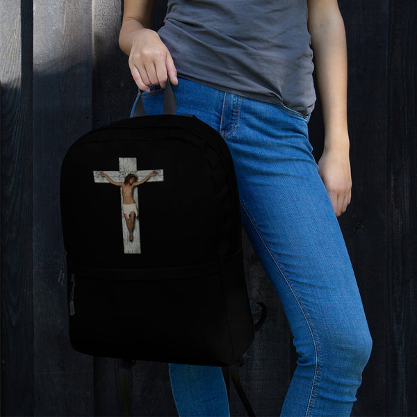 Backpack - The Cross by Eldad P - we wear art