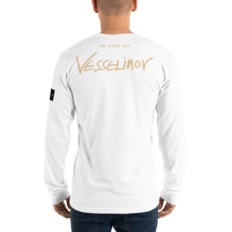 Long sleeve t-shirt - The King by Vlado V - we wear art