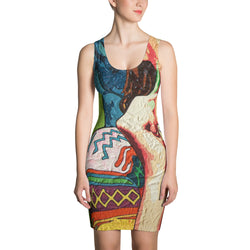 Sublimation Cut & Sew Dress - Sofia by Vlado V - we wear art