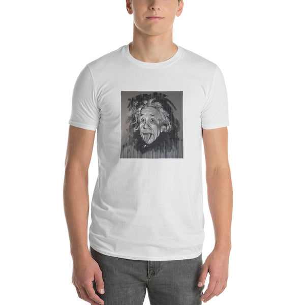 Short-Sleeve T-Shirt - Albert Einstein by Eric B - we wear art