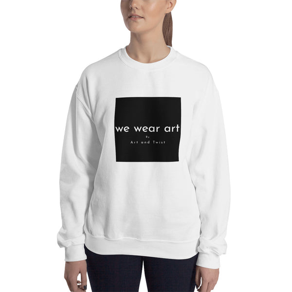 Sweatshirt - We wear art Vesselinov - we wear art