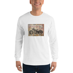 Long Sleeve T-Shirt - Bike by Eric B - we wear art