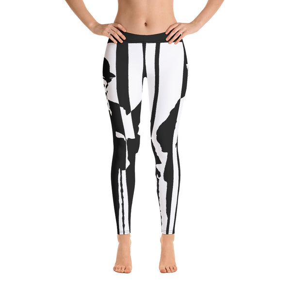 Leggings - Chaplin by Vlado V - we wear art
