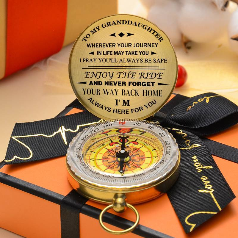 To GrandDaughter-Enjoy The Ride - Compass