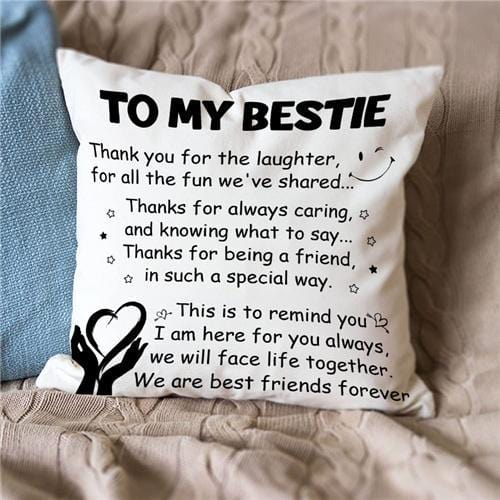 To My Bestie - We Are Best Friends Forever - Pillow Case