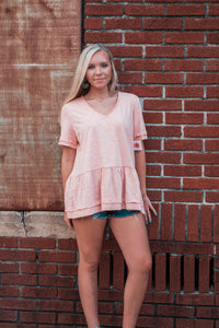 Canyon Rose Short Sleeve Tee