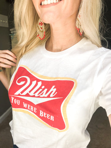 Wish You Were Beer Graphic Tee