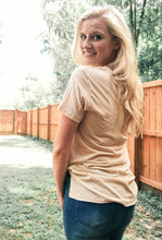 Load image into Gallery viewer, Bella Beige Basic Tee