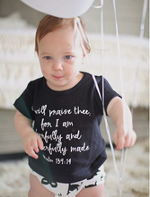 Load image into Gallery viewer, Organic Basic Tee - Psalm 139:14