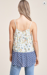 Bethany Blue Tank Top