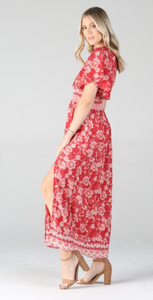 Bay Breeze Midi Dress