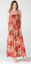 Load image into Gallery viewer, Rachel Red Maxi Dress