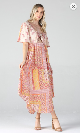 Gemma Gypsy Midi Dress