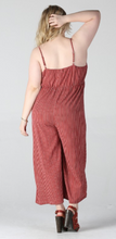 Load image into Gallery viewer, Aleia Tie Front Jumpsuit