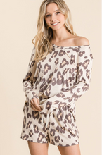 Load image into Gallery viewer, Leopard Loungewear Set