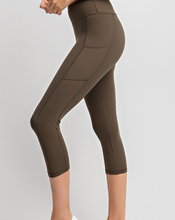 Load image into Gallery viewer, Olive Athletic Leggings (Curvy)
