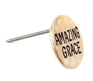 Amazing Grace Stud Earrings