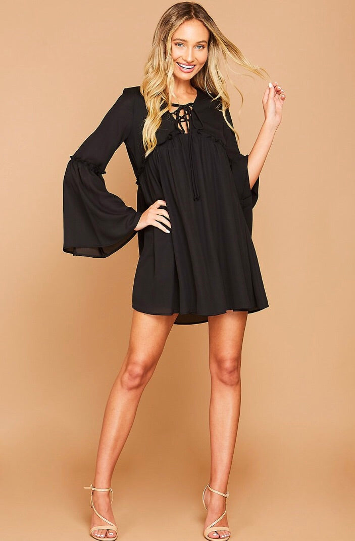Night Moves Black Dress