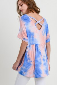 Hometown Girl Tie Dye Top