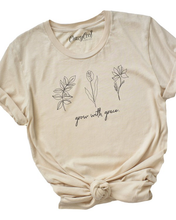 Load image into Gallery viewer, Grow with Grace Graphic Tee