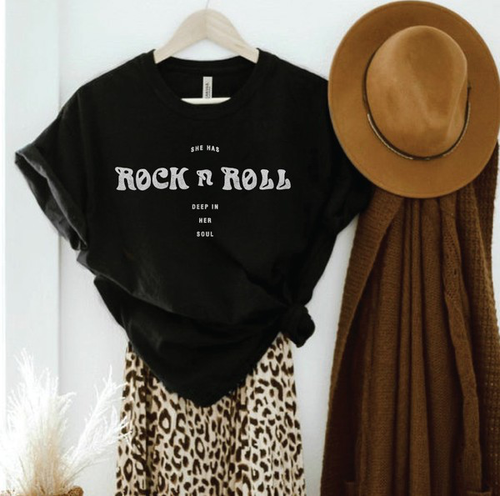Rock N Roll Soul Graphic Tee