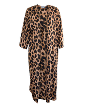 Load image into Gallery viewer, Leopard Duster Kimono